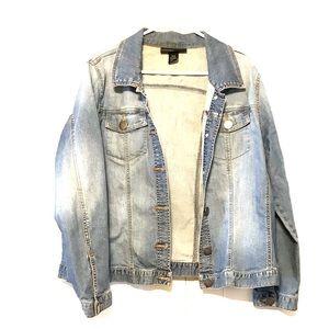 Venezias worn Look Jean Jacket Lane Bryant